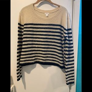 BP soft cropped sweater